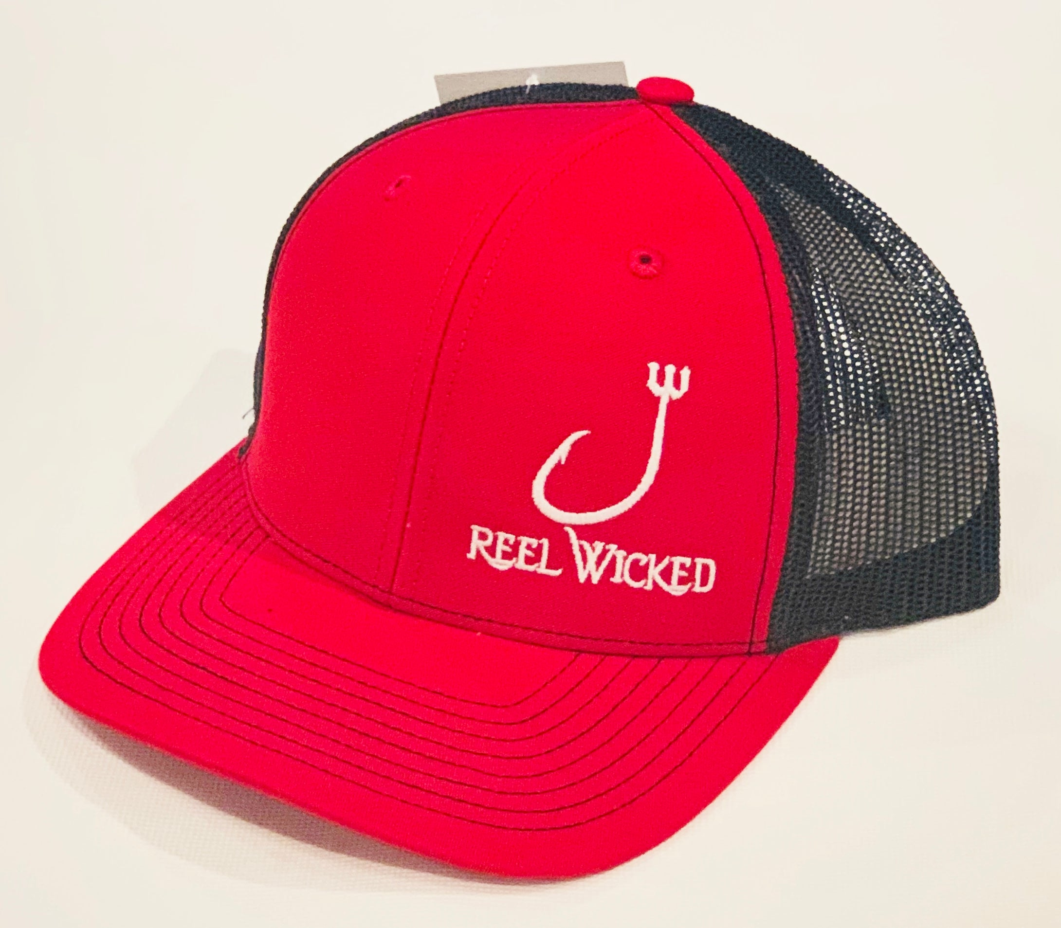 Red/Blk w Wh Logo