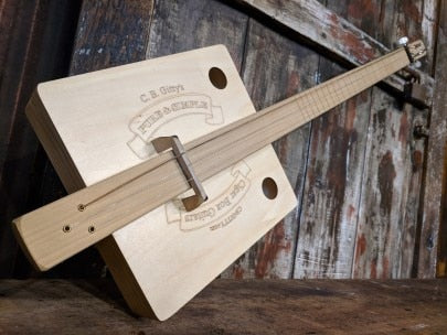 The Pure and Simple Cigar Box Guitar by CB Gitty (fretted)