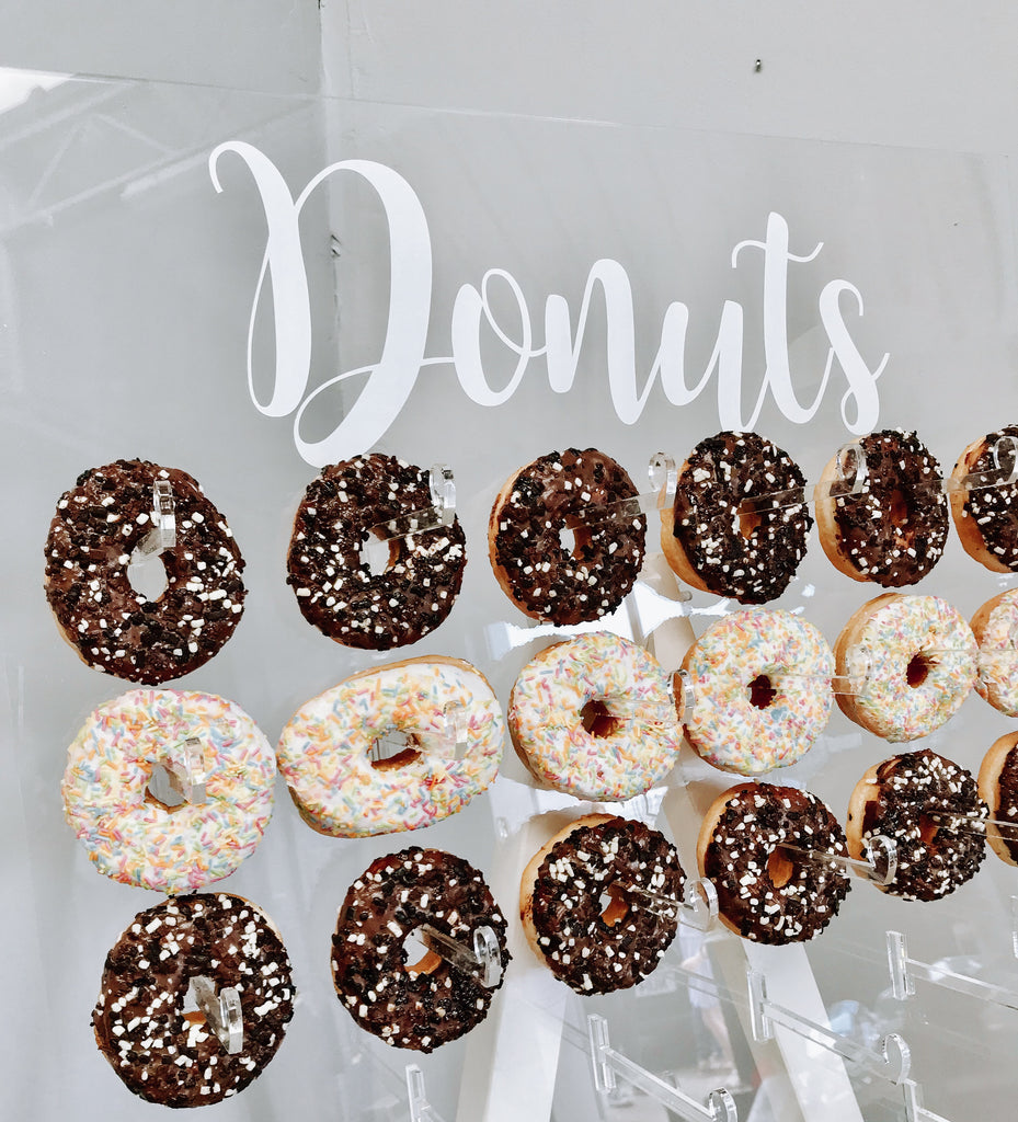 Hire of Clear Donut Wall