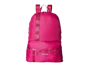 Calvin Klein Packable Backpack Berry One Size