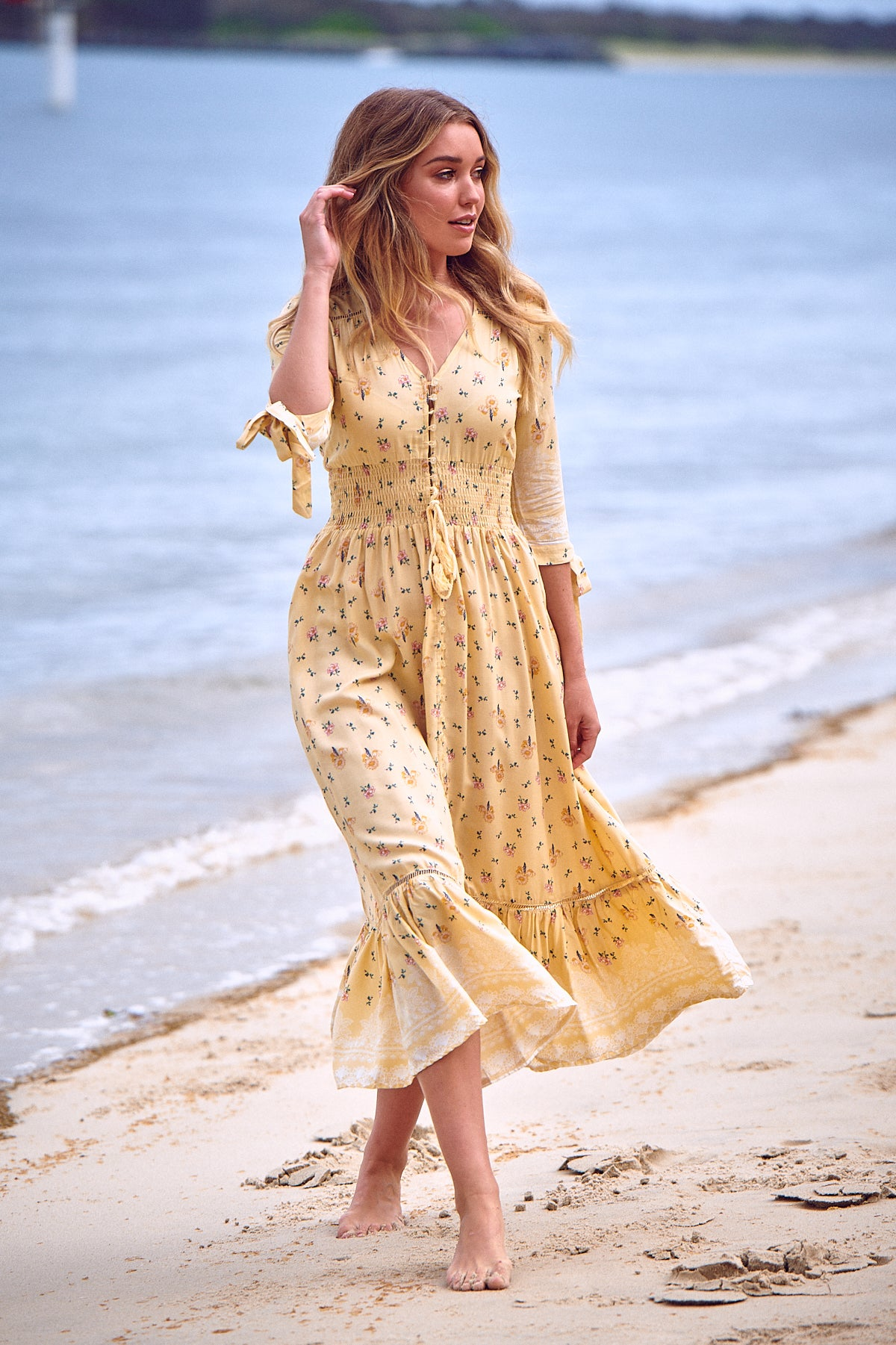 Lulu Limoncello Maxi Dress
