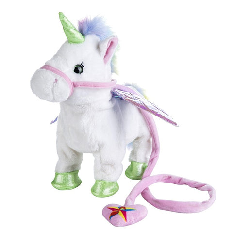 Walking Unicorn Plush Toy