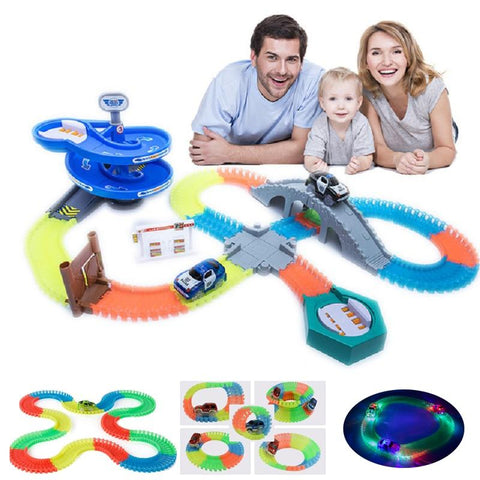 Magic Glowing Racing Set