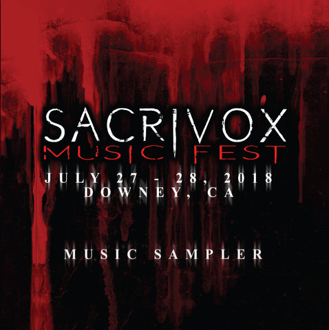 Sacrivox Music Festival [Compilation] [CD]