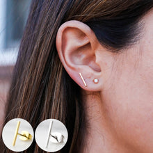 Load image into Gallery viewer, Bar Minimalist Earrings