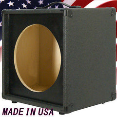1x12 Extension Guitar speaker Empty cabinet Charcoal Black Tolex G1X12ST-CBTLX