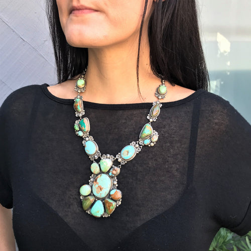 Big Bold Beautiful Kathleen Chavez Cluster Necklace