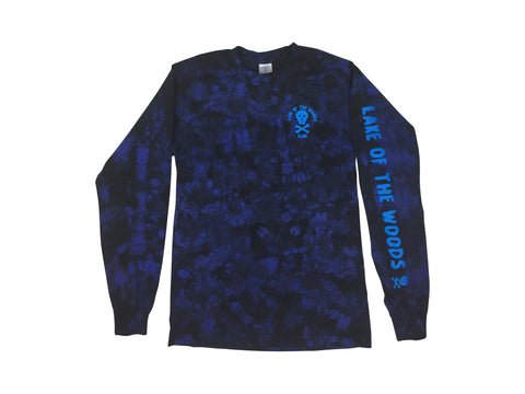LOTWC  LS- ROYAL TIE DYE w BLUE PRINT - Lake of the Woods Club