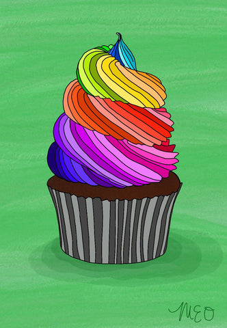 Custom Pride Cupcake Prints