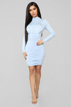 Load image into Gallery viewer, ice blue party dress