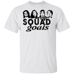 The Squad Goals Women's of Congress Feminist AOC Vintage Shirt