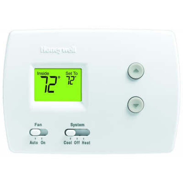 PRO 3000 Non-Programmable Digital Thermostat 1H/1C for Conventional and Heat Pump