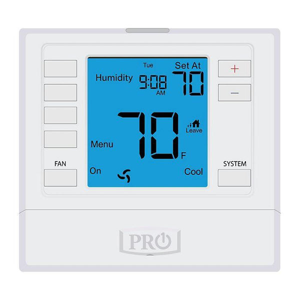 "Pro1 - T755S - Platform: 5+1+1 Or Non-Programmable, 3H/2C Universal with 6"" Display, Sensors Not Included."