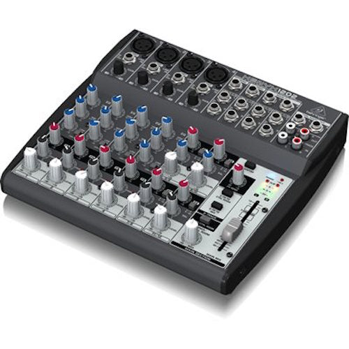 Behringer 1202 Premium 10-Input 2-Bus Mixer With Xenyx Mic Preamps And British Eqs