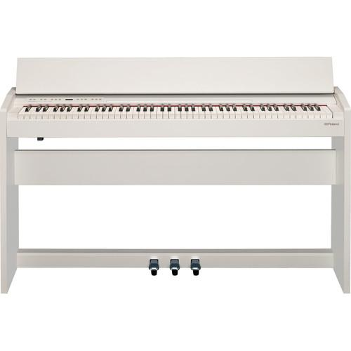 Roland F-140R-Wh Digital Piano Contemporary White