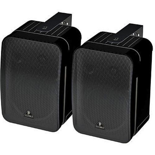 Behringer 1C-Bk Ultra Compact Two-Way 55 Passive Monitor Pair Black