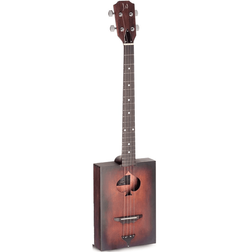 JN Guitars Cask-Firkin Cigar Box acoustique 4-String Cigar Box Guitar