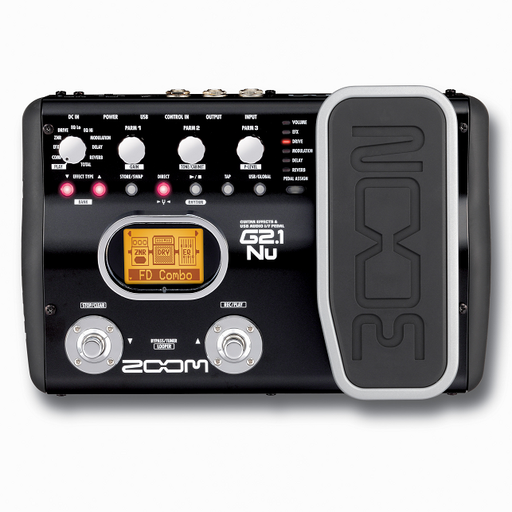 Zoom G2.1Nu Guitar Effects & Usb Audio I/F Pedal