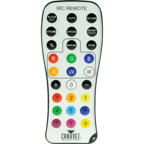 Chauvet Irc-6 Wireless Remote Control For All Chauvet Freedom Series And Irc Products