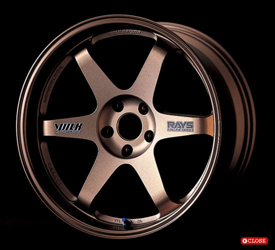 Volk Racing TE37. 1PC forged lightweight wheel. Please contact us