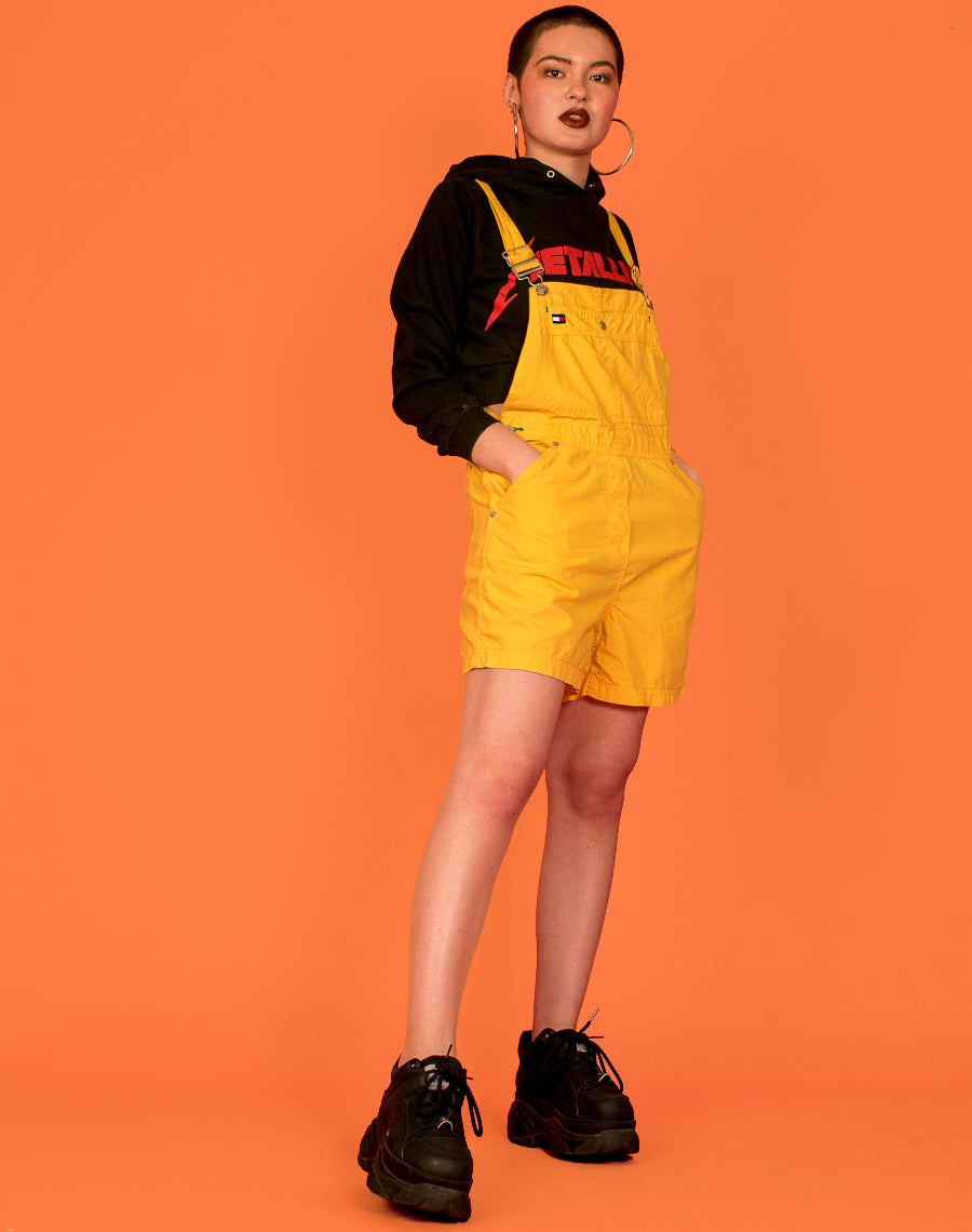 TOMMY HILFIGER YELLOW DUNGAREES