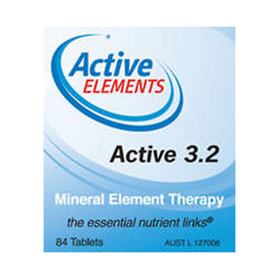 Active Elements Active 3.2 84 Tablets