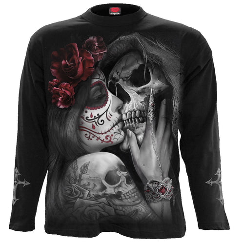 DEAD KISS - Longsleeve T-Shirt Black