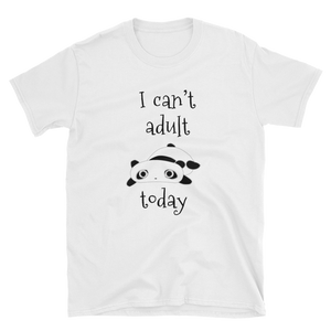 I Can't Adult Today Cotton Tee - Mystical Berries