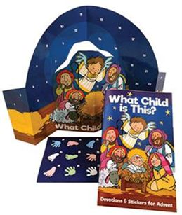 What Child Is This? (Booklet) A Sticker Journey Through Advent