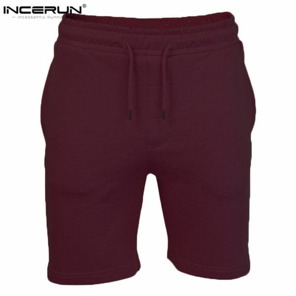 INCERUN New Brand High Quality Men Shorts Bodybuilding Fitness Gasp Gyms-clothing Sporting Workout Jogger Shorts XXL