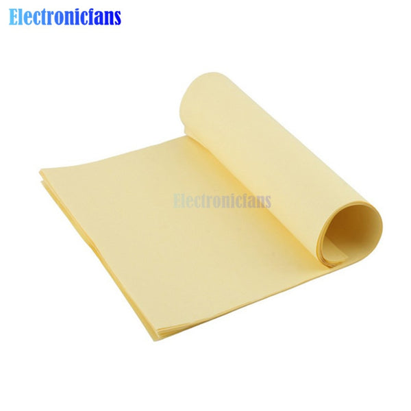10PCS A4 Toner Heat Transfer Paper Yellow For DIY PCB Electronic Prototype Mark Top Quality