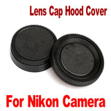 1Pcs Camera Lens Cap Rear Lens Cover Protection Cover Lens Front Cap for Nikon Lens DSLR  Camera Photo Adapter Accessory New