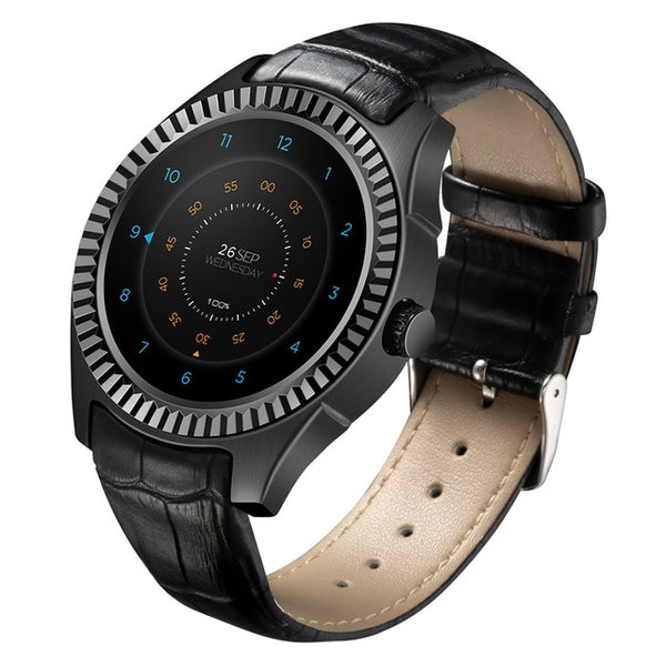 3G Smartwatch Phone 1.3 inch Android 4.4 MTK6572 Dual Core 1GB 8GB Bluetooth 4.0 Heart Rate monitor IP65 Waterproof