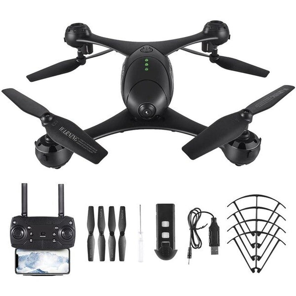 KF600 RC Quadcopter Drone with 720P HD Camera 3D Flip Headless Mode Gesture Auto-photo Altitude Hold Optical Flow Positioning