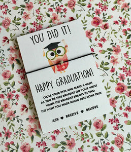 Graduation wish string