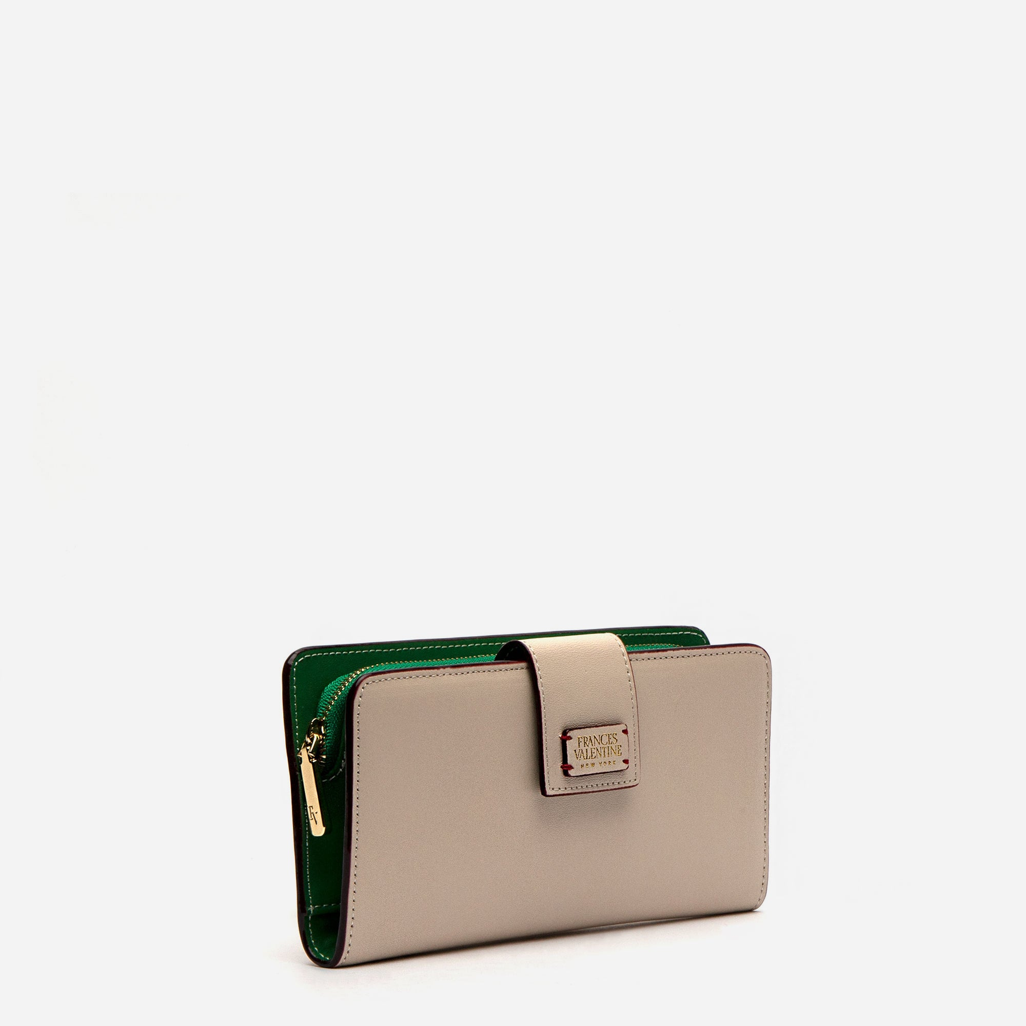Jefferson Slim Wallet Oyster Green