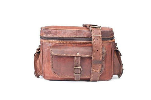 Rhoncus Leather Camera Bag