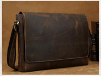 Supremo Leather Messenger