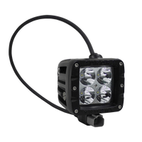 "20W - Rugged SA 2"" Double Row Cube IP69K Led off-road Spot Light , with brackets and harness - 2"" / Cube / Spot"