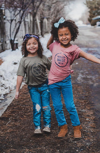 Protector Sister Friend Kids t-shirt