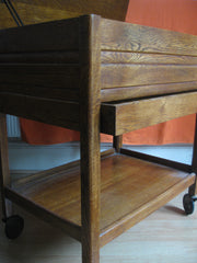 Oak vintage Hostess trolley-SOLD