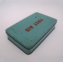 First Aid tin (possibly 1940-50's). - SOLD
