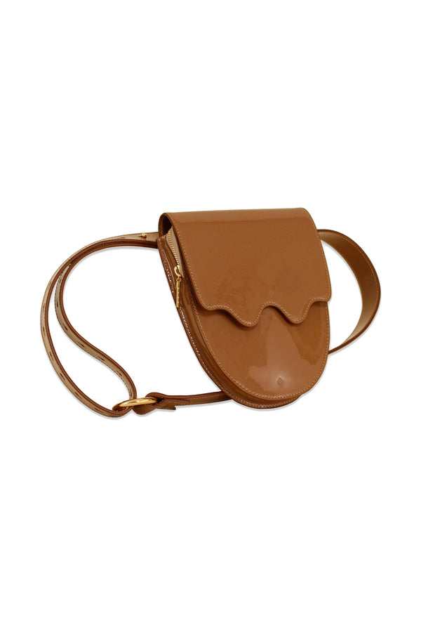 Amber Palmetto Belt Bag by ASHYA