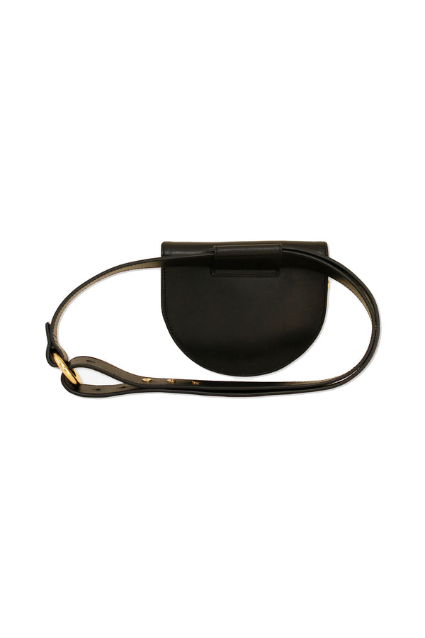 Onyx Palmetto Mini Belt Bag by ASHYA