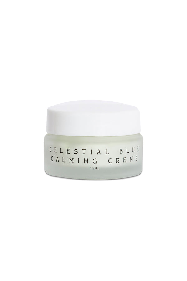 Celestial Blue Calming Creme by Wooden Spoon Herbs