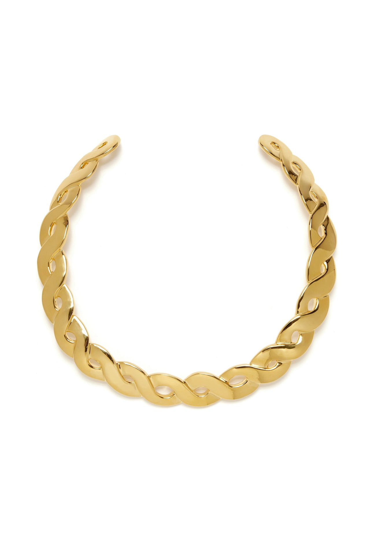 Gold Braid Collar