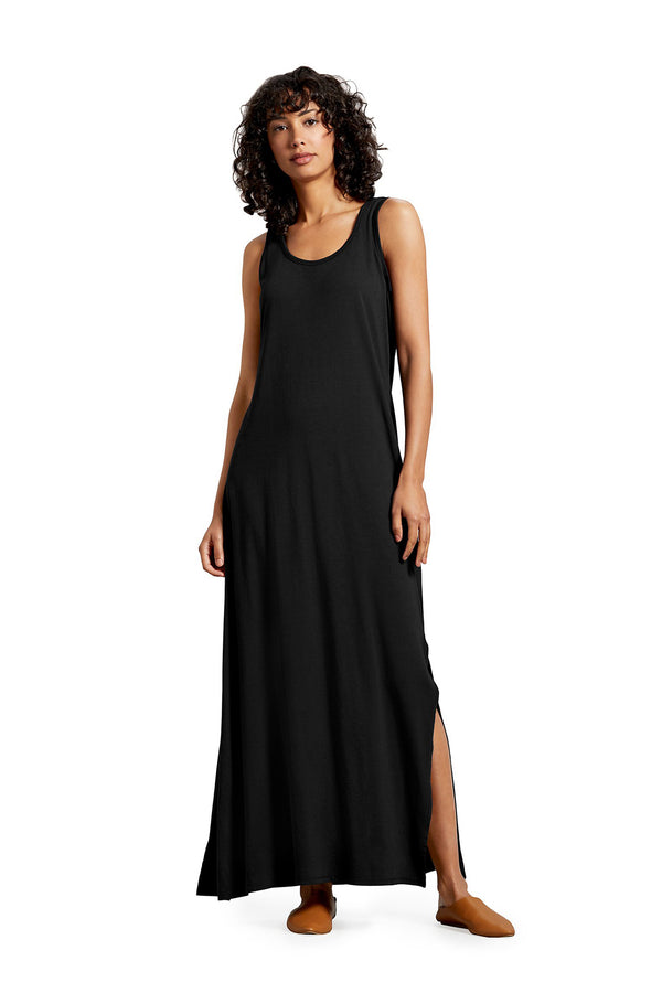 Black Isabelle Maxi Dress by Michael Stars
