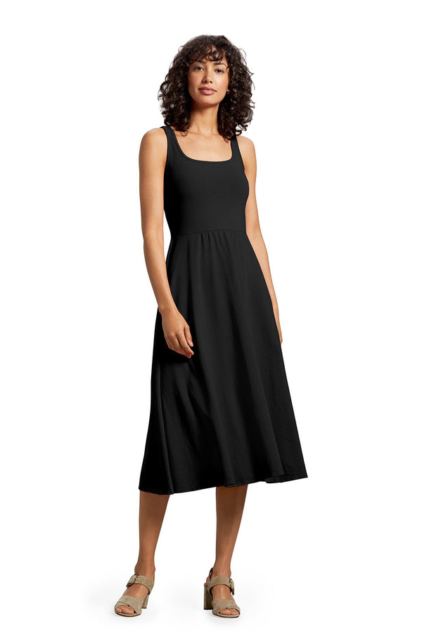 Black Willow Fit & Flare Dress by Michael Stars