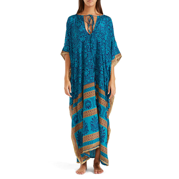 The Shannon  Silk Kaftan 2