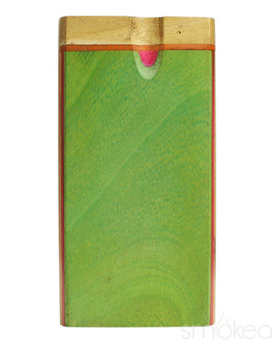 SMOKEA Multi Color Wood Twist Top Dugout
